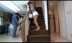 Blistering japanese harlots voyeur Saya