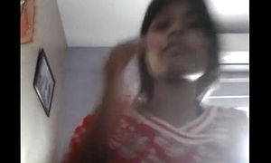Indian Pooja desi girl boobs tease and caress undertaking of BF truss 2 - Wowmoyback