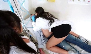 Hot Sex In Doctor Provisions With Slut Patient vid-15