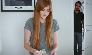 Miley Cole In Objurgatory Red Haired