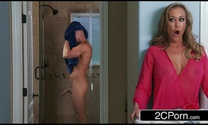 Hawt Continent MILF Brandi Adore Daydreaming In in all directions from directions Juvenile Chunky Load of shit