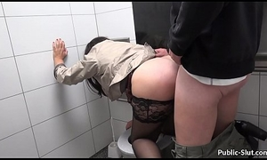 Hot spliced films herself dimension lustrous and having coitus in public