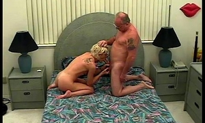 Young Horny Slattern Sucking Elderly Mans Cock