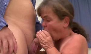 small milf enjoys a wild threesome orgy