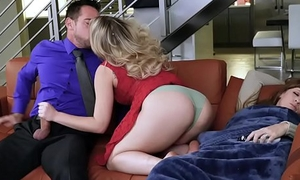 Make believe dad Johnny horseshit feeding her step daughter Zoey Monroe!