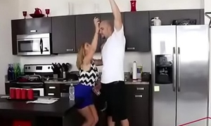 Cute Blonde Fucked by Step-Brother