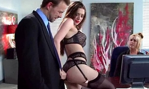 Hot Unshaded (veronica vain) With Fat Juggs Banged In Office movie-30