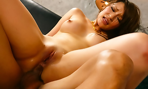 Fabulous and nonsensical fuck surrounding an comely brunette named Yukina Mori