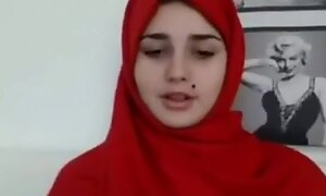 Arab teen goes nude