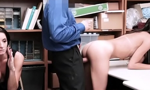 Skinny latina shoplyfter flush give by dam to use her assets to go free